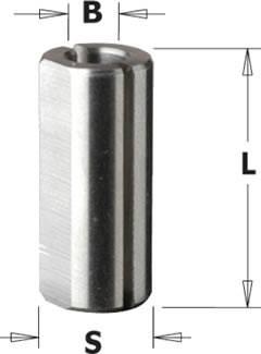 Portabrocas de conexión rápida para brocas helicoidales de pequeño diametro