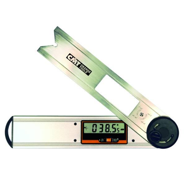 El angulometro guarda siempre la ultima medición ejecutada, tiene un indicador de batería baja y se autoapaga. Robusto, pero ligero, este aparato ha sido realizado para principiantes y expertos. Incluye bateria.