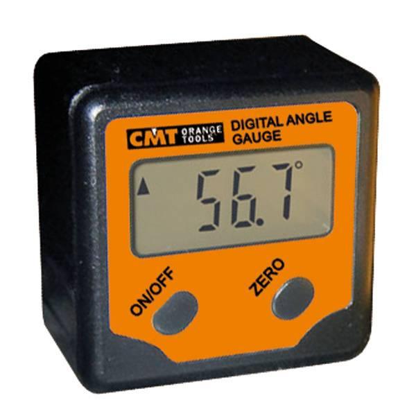 Este medidor de ángulo digital tiene un campo de medida de ±180°, una precisión de 0,1° y se autoapaga después de 5 minutos