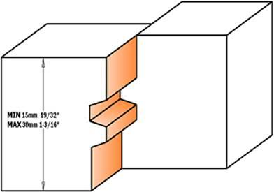 fresa ideal para la fabricación de tableros grandes, puertas y muebles