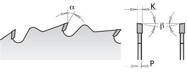 Estas sierras son idóneas para trabajar en sierras ingletadoras,sierras de banco sierras de mesa o sierras radiales