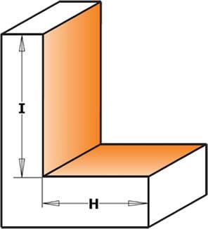 fresa donde podra realizar varias medidas de galces o rebajes y pudiendo trabajar con maderas de tamaño reducido