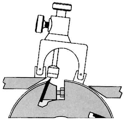 A) Colocación sobre el cuerpo de la portacuchilla: cepilladoras, regruesadoras, má- quinas combinadas, etc., y detección de la posición de la cuchilla