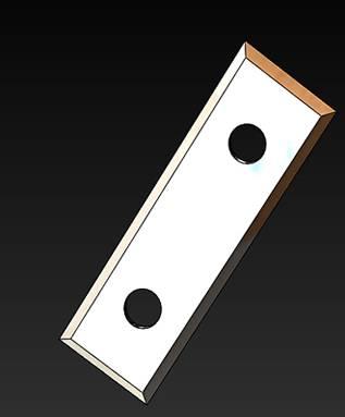 cuchillas para ranuras en V o folding