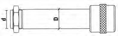 Ejes portafresas para retestadoras aluminio y pvc