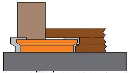 herramientas de corte con placas de carburo de tungsteno de alta resistencia deben ser utilizadas exclusivamente con fresadoras