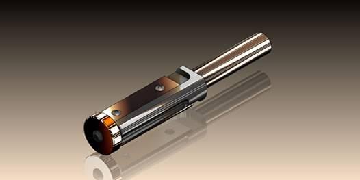 Portacuchillas con cuchillas reversibles con rodamiento inferior