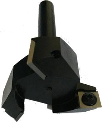 Herramienta para fresadoras y CNC, idónea para la eliminación rápida de material