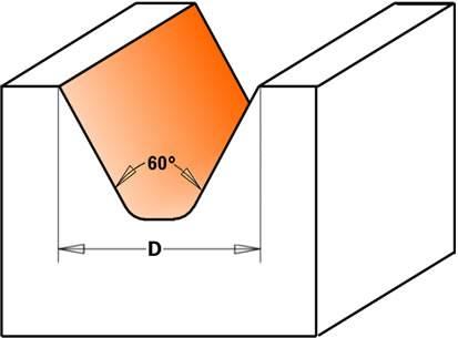 Esta herramienta esta  diseñada para trabajar carteles de madera con pantógrafos,fresadoras y cnc