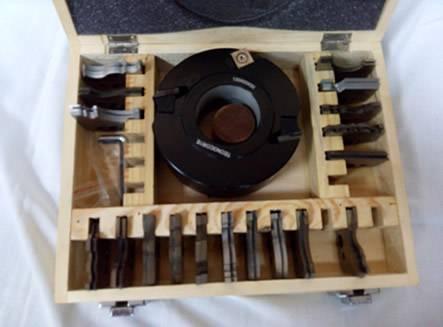 Portacuchillas para maquinas tupis o combinadas