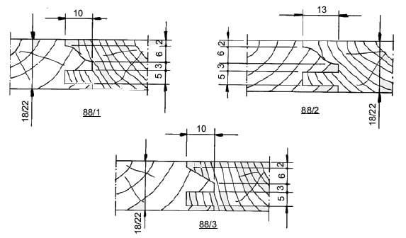 Portacuchillas para moldura y contramoldura para muebles,maderas hasta 22 mm