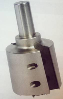 Cabezal para realizar galces o perfilados en maderas o laminados,para maquinas cnc o pantografos