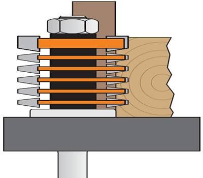 Posicionamiento de trabajo en fresadora para realizar juntas o ensambles en madera o mdf