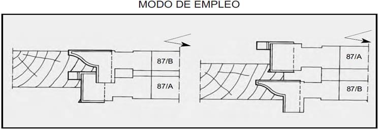 cabezales adecuados para lafabricacion de muebles