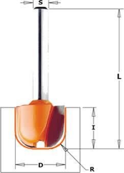 Fresa ideal para realizar vasijas,bandejas,cajas,tablas de picar